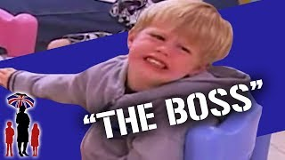 Kid Rules The House as Mom Can't Say No | Supernanny