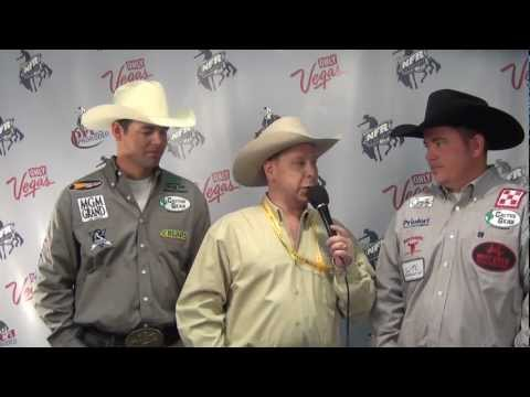 Clay Tryan Travis Graves Round 7 2012 Nfr Team Roping