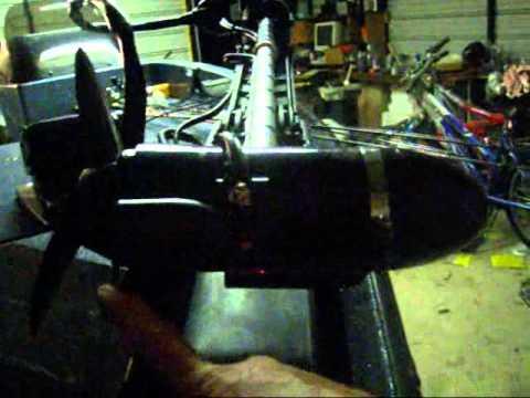 Video hummingbird 175 install transducer on trolling motor for Lowrance trolling motor transducer installation