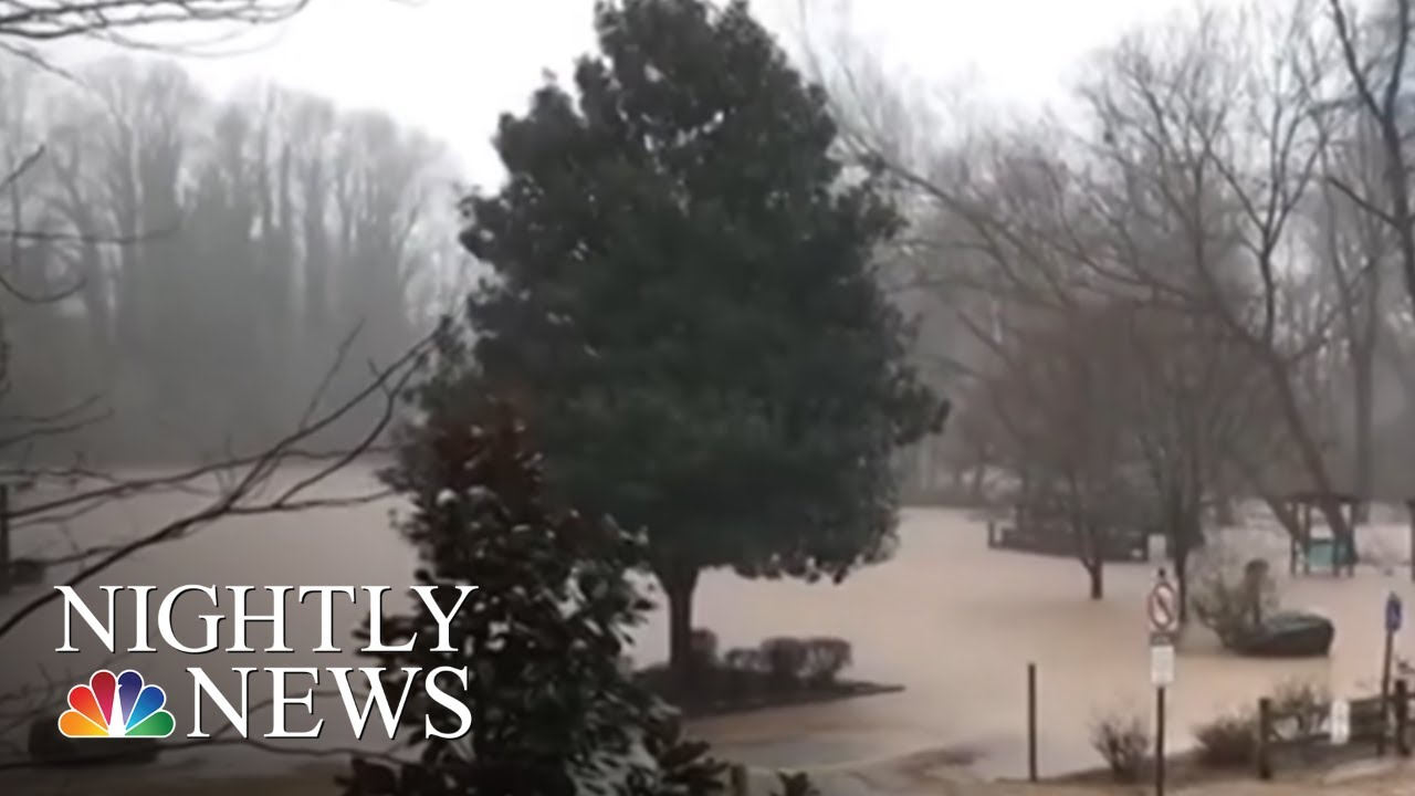 Deadly Winter Storms Bring Snow And Heavy Rain | NBC Nightly News