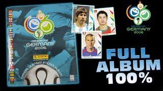 100 % Panini FIFA WORLD CUP 2006 WM Sticker Collection FULL ALBUM KOMPLETT