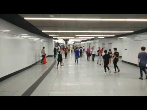 Malaysian Lifestyle #4: Bukit Bintang MRT Station 地鐵站內