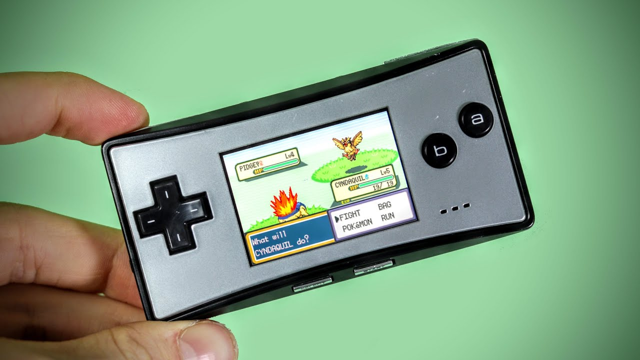 The Nintendo Gameboy Micro.