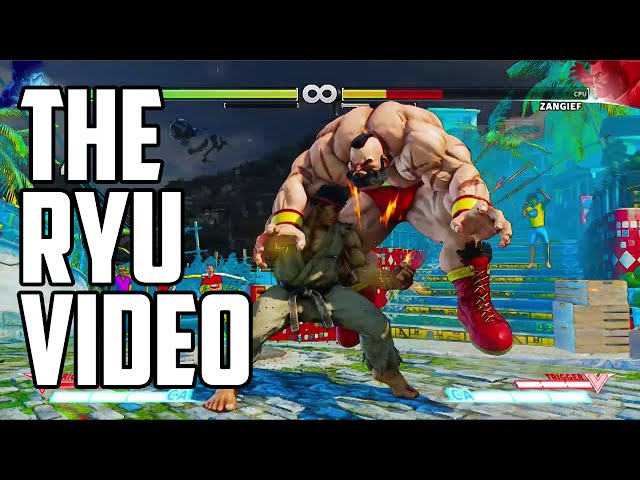 Street Fighter 5 Ryu Combo Video