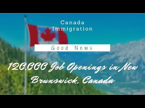 120,000 Job Openings In New Brunswick, Canada |Amazing News ✌| Canada Immigration