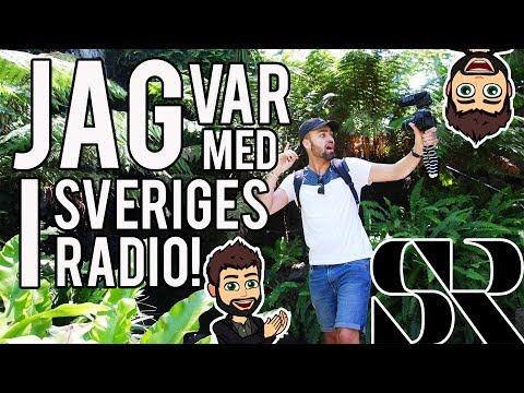 JAG VAR MED I SVERIGES RADIO!! | VLOGG 23