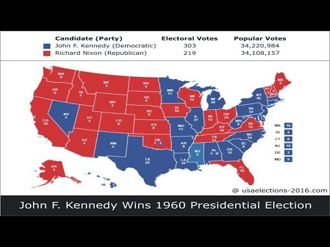 1960 US Presidential Election Result
