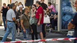 Genuas Einwohner wütend und verzweifelt thumbnail