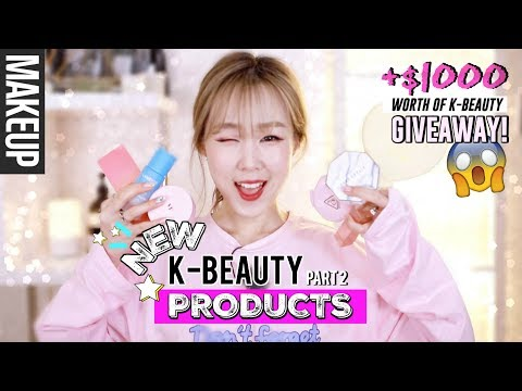 NEW KOREAN BEAUTY PRODUCTS #2 + $1000 K-Beauty Giveaway!   meejmuse