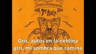 Los Piojos - Gris (Con letra)