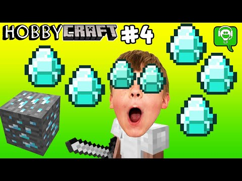 💎 HobbyCraft 4 How To Find DIAMONDS 💎