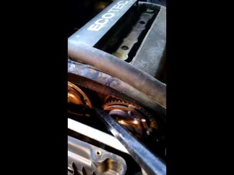 Проверка шестерен ГРМ на F14D4