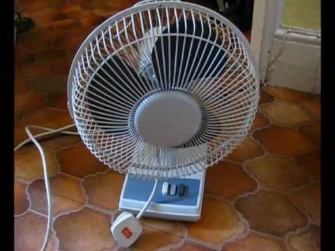 Smashing a fan! - YouTube