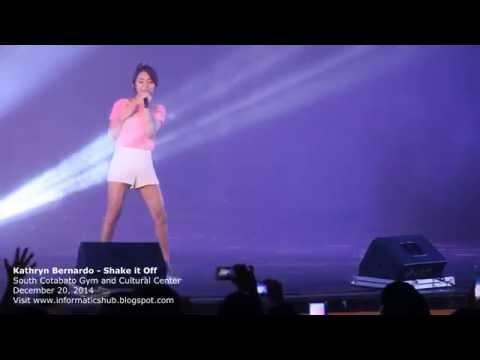 Kathryn Bernardo Live at KCC Mall of Gensan/Marbel - Shake it off
