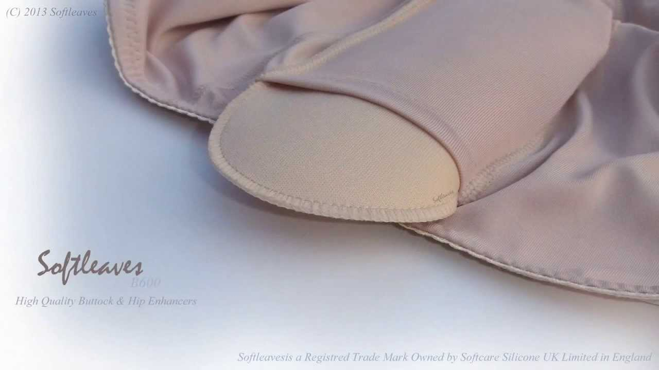 eea0b94035a Softleaves B600 High Quality Buttock and Hip Enhancers - Softleaves Padded  Panties - YouTube