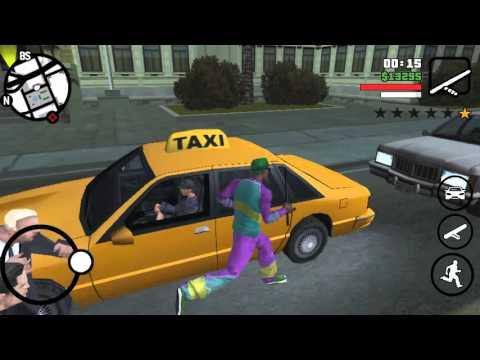 GTA SA- MESSING WITH LAWYERS/BUSTED