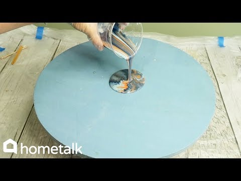 How To Make A Resin Tabletop | Hometalk