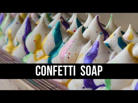 Confetti Soap Remake (+ Why I Won