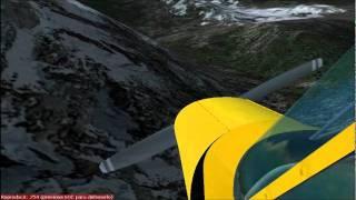 FS2004 dead stick takeoff, flight and landing
