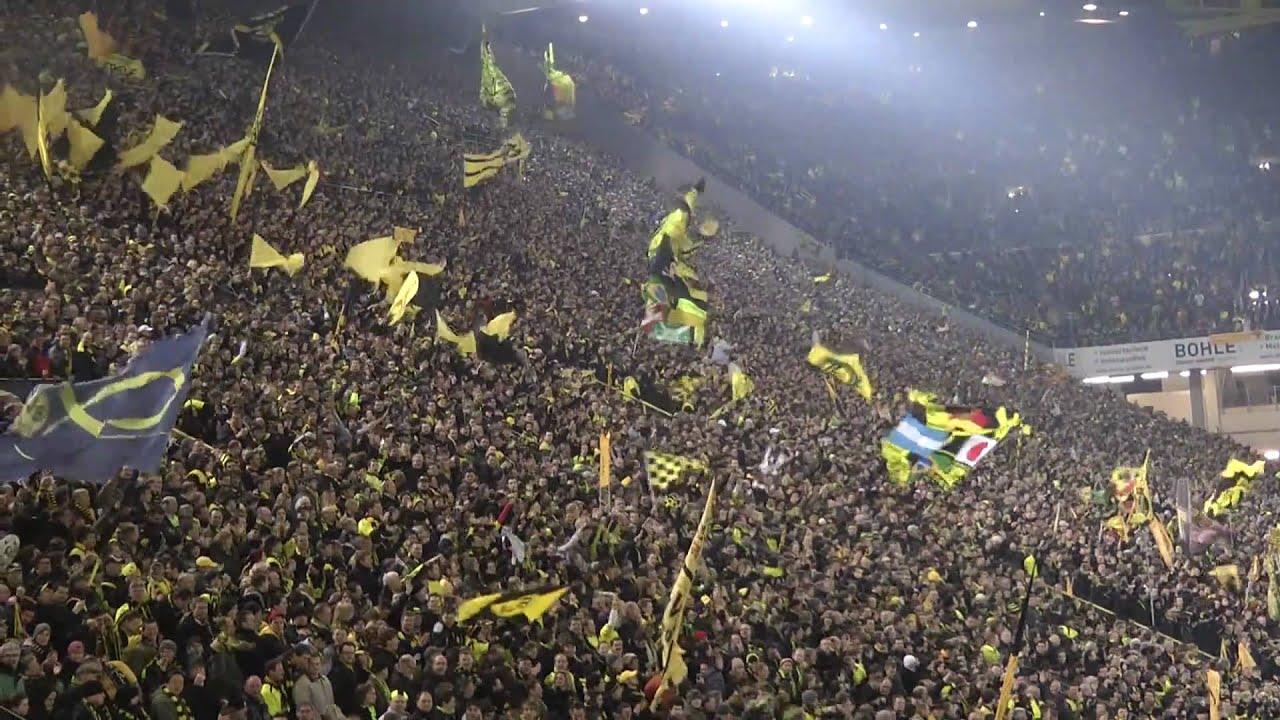 BVB - Köln 1-0 Stimmung Part 1 Borussia Dortmund 04.03.2011