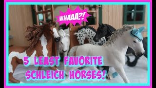 Top 5 Of My LEAST Favorite Horses FIRST DAY TV