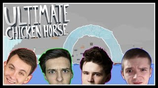 LEDOVCOVÁ MAPA!! - Ultimate Chicken Horse /w MenT, House, Baxtrix