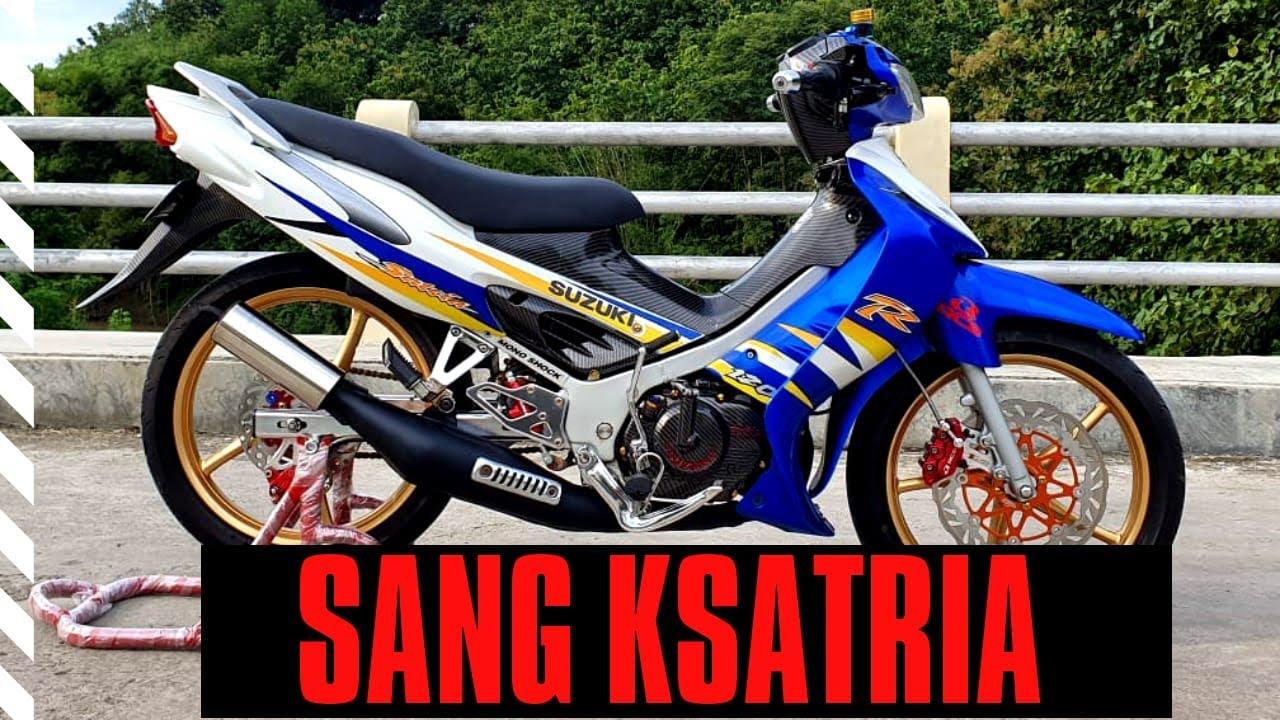 Suzuki Satria Hiu 2 Tak Sang Legend - YouTube