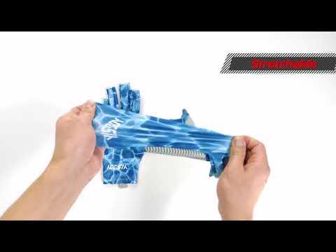 UV Protection Fishing Fingerless Gloves