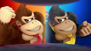 Super Smash Bros Ultimate, Donkey Kong, Link, Samus, Inkling