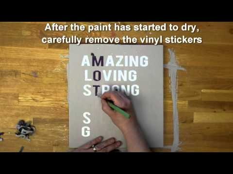 Refresh Mother's Day DIY Craft Kit - Make a Hanging Wooden Sign for Mother's Day