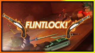 TRADING PER FLINTLOCK IN ROBLOX MMX!! (COMPLETO)