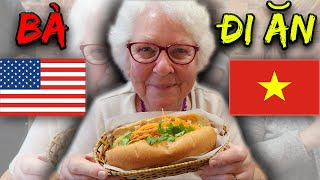 American Grandma Trying Vietnamese Food for the 1st Time