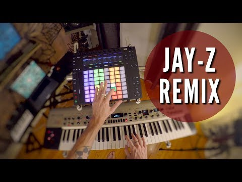 Dirt Off Your Shoulder ► Push + KingKorg = JAYZ Remix   Performance Ableton in 4k!!