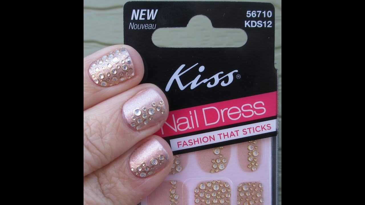 Kiss Nail Dress Show and Tell - YouTube
