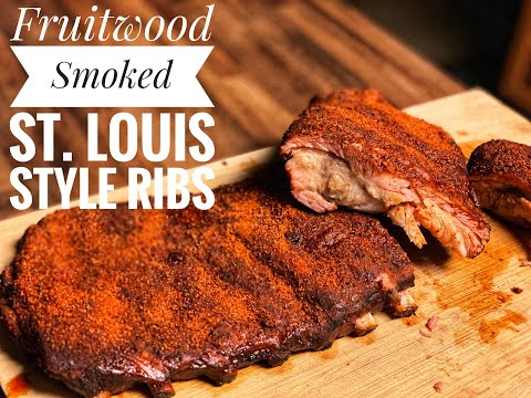 Smoked St. Louis Style Ribs on a Green Mountain Grill Davy Crockett