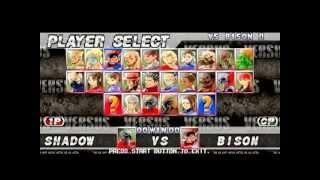 Como Habilitar Todos os Secretos em Street Fighter Ex Plus 2 - Playstation