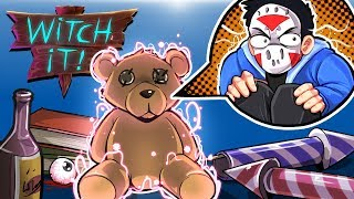 WITCH IT - I FOUND TEDDY BEAR!!!!! (Fun Prop Hunt Game!)