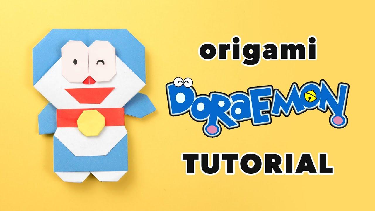 Origami Doraemon Tutorial DIY
