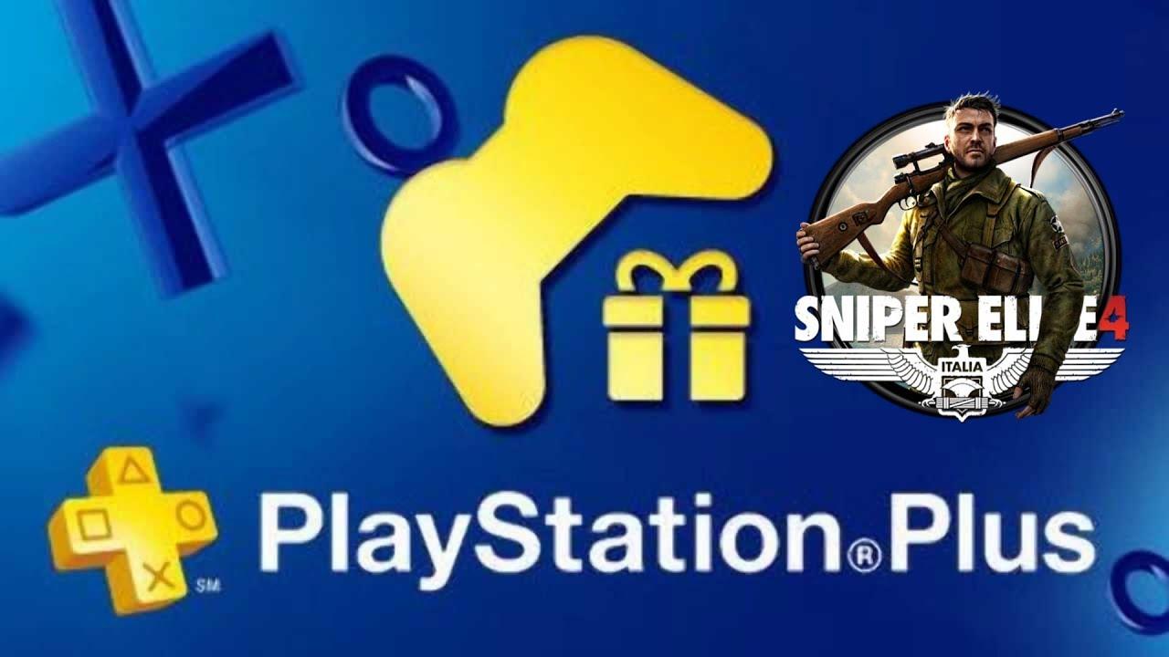 Sniper Elite 4 PS Plus Free Game From August 2019 - September 2019 #psplus
