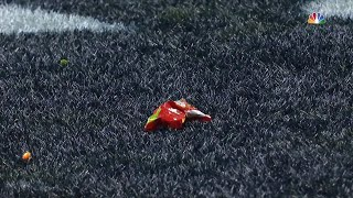 Fans Throw Skittles on Field After Marshawn Lynch Touchdown