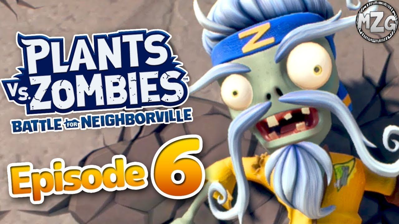 Plants vs  Zombies Battle for Neighborville Gameplay Part 6 - Zen Sensei  Boss! Town Center!