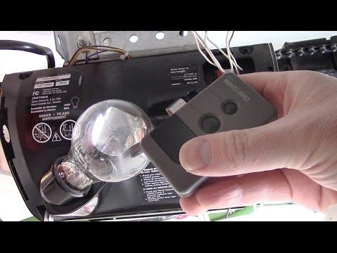 How To Program A Craftsman Garage Door Opener Remote How