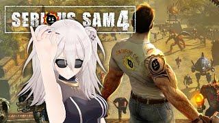 【Serious Sam 4】Aaaaaaaaaaaaaaaaaaaaa #2【獅白ぼたん/ホロライブ】