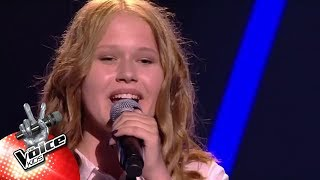 Lindsy - 'Let It All Go' | The Voice Kids | VTM