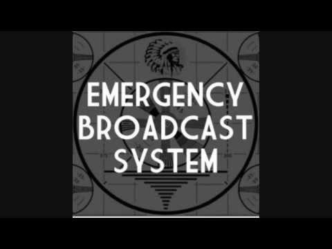 EMERGENCY BROADCAST SYSTEM ZOMBIE ALERT ZOMBIE ALERT