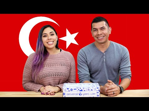 TURKEY SNACKS TASTE TEST! - Yum Box