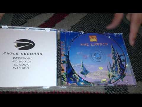 Nostalgamer Unboxes Yes Album The Ladder European Version On CD