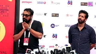 Kabir Khan and Anurag Kashyap at Jio Mami Film Mela 2017