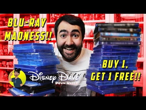 BLU-RAY & 4K MADNESS!! BUY 1, GET 1 FREE!! - Blu-ray Haul 20