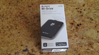 Kingston Wi-Drive Portable, Wireless Storage for iPhone, iPad Or iPod Touch Review